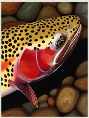 Trout~AD Maddox (Moldy Chum Art)