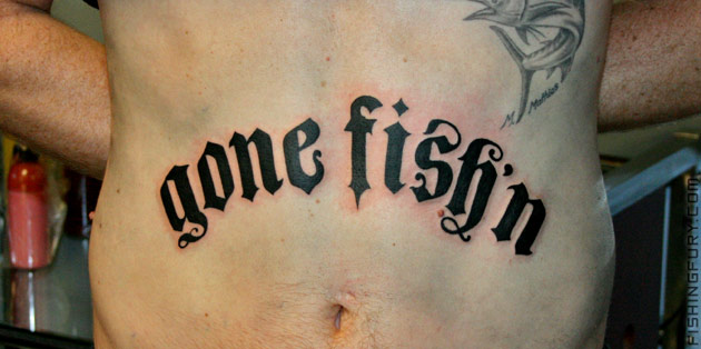 Fishing Tattoo Art 4 (Ok, I'm not furious enough)