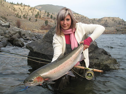Pretty in Pink Too~BC Steelhead