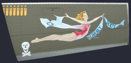 Plane Nose  on Ww2 Aircraft Nose Art  Pre Pc  When Boys Were Men     Swittersb   Fly