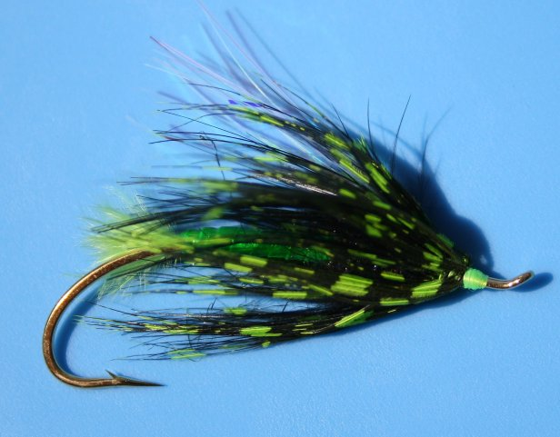 Green Lantern Summer Steelhead Fly