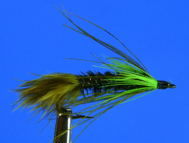Lake Bait w/ Green Lateral Barbs~GM