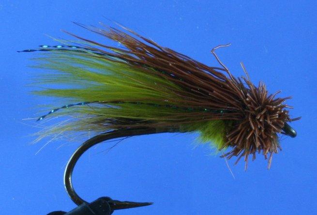 Green Muddler Minnow~SB
