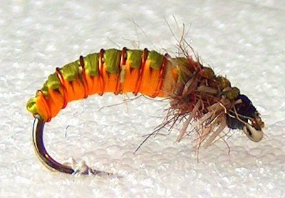 Flyfishing World~Woven Caddis