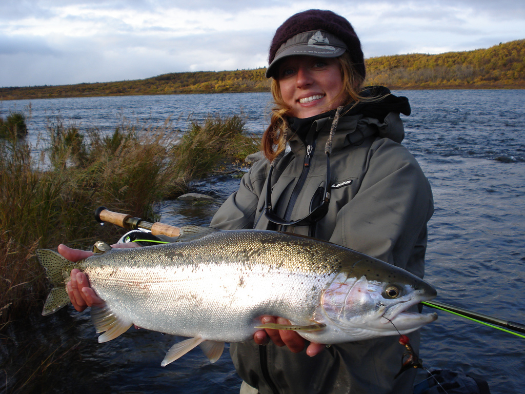 Spey casting two hander beauty rogue angel k8 for Nj fly fishing