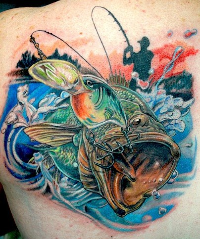Tags: ABT Tattoo, Cold Fury, fish tattoo, fishing, tattoo, Todo