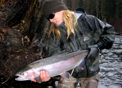 Hannah Belford~a Fly Fisher Girl
