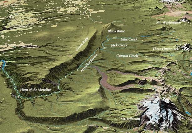 Metolius River Basin