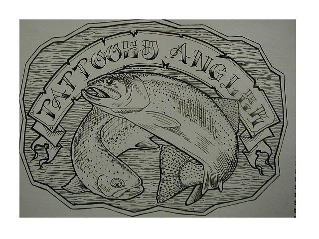 Tattoed Angler