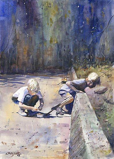 Boys-at-the-Bridge by Dean Crouser