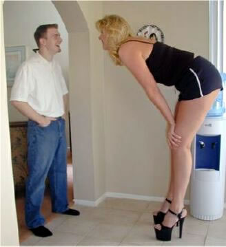 Ok, She's Wearing Platform Heels........