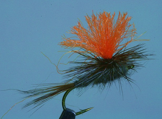 Parachute Mayfly w/ Hot Post for Visibility~SwittersB