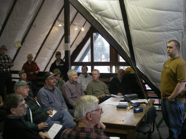 Tony Muncy Teaching in the NWFFO Loft (3/7/09)