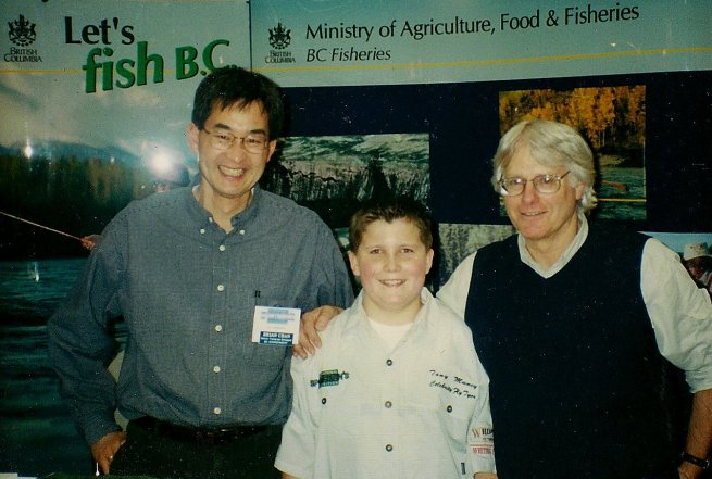Brian Chan, Tony Muncy, Dave Hughes