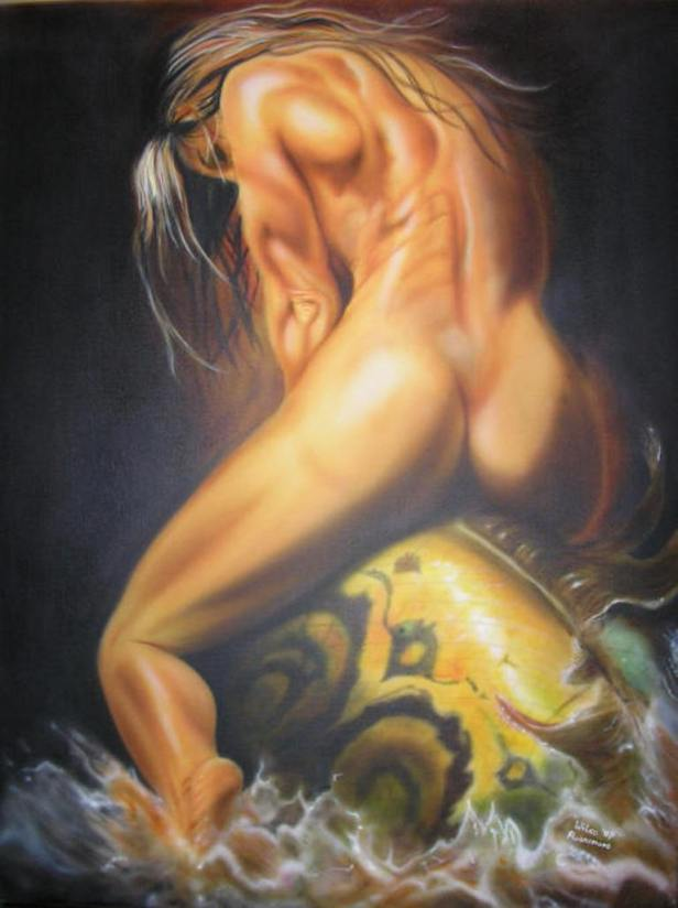 Woman and Fish ~ Wilco Ruinemans
