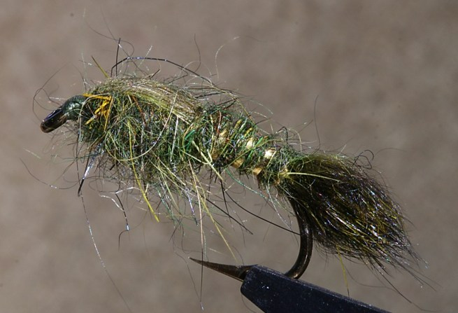 Hare's Ear Nymph (Combo of Colors)~G. Muncy