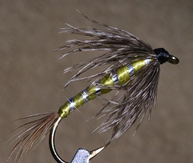 Wet Fly w/ floss body~G. Muncy
