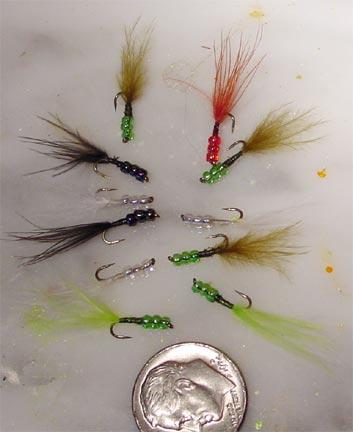 Tilapia Flies by 'Graham' @ talkflyfishing