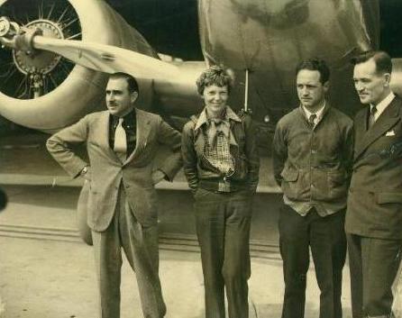 EARHART & PAUL MANTZ, HENRY MANNING, & FRED J. NOONAN.