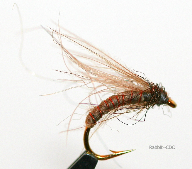 Wet Fly (Snowshoe & CDC) ~ SwittersB