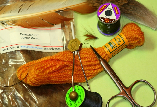 October Caddis Pattern Materials~SwittersB