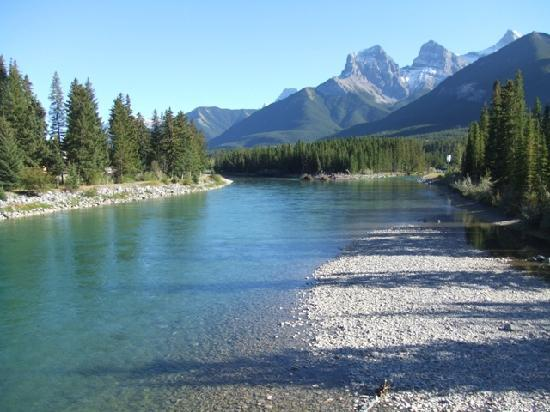 Tom Cutmore's Bow River (Canmore, Alberta)