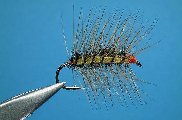 Crackleback fly pattern recipe