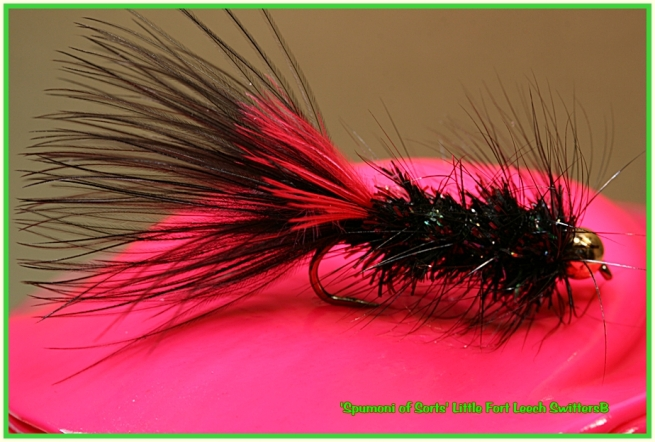 A LFL where I used the longer black estaz chenille...