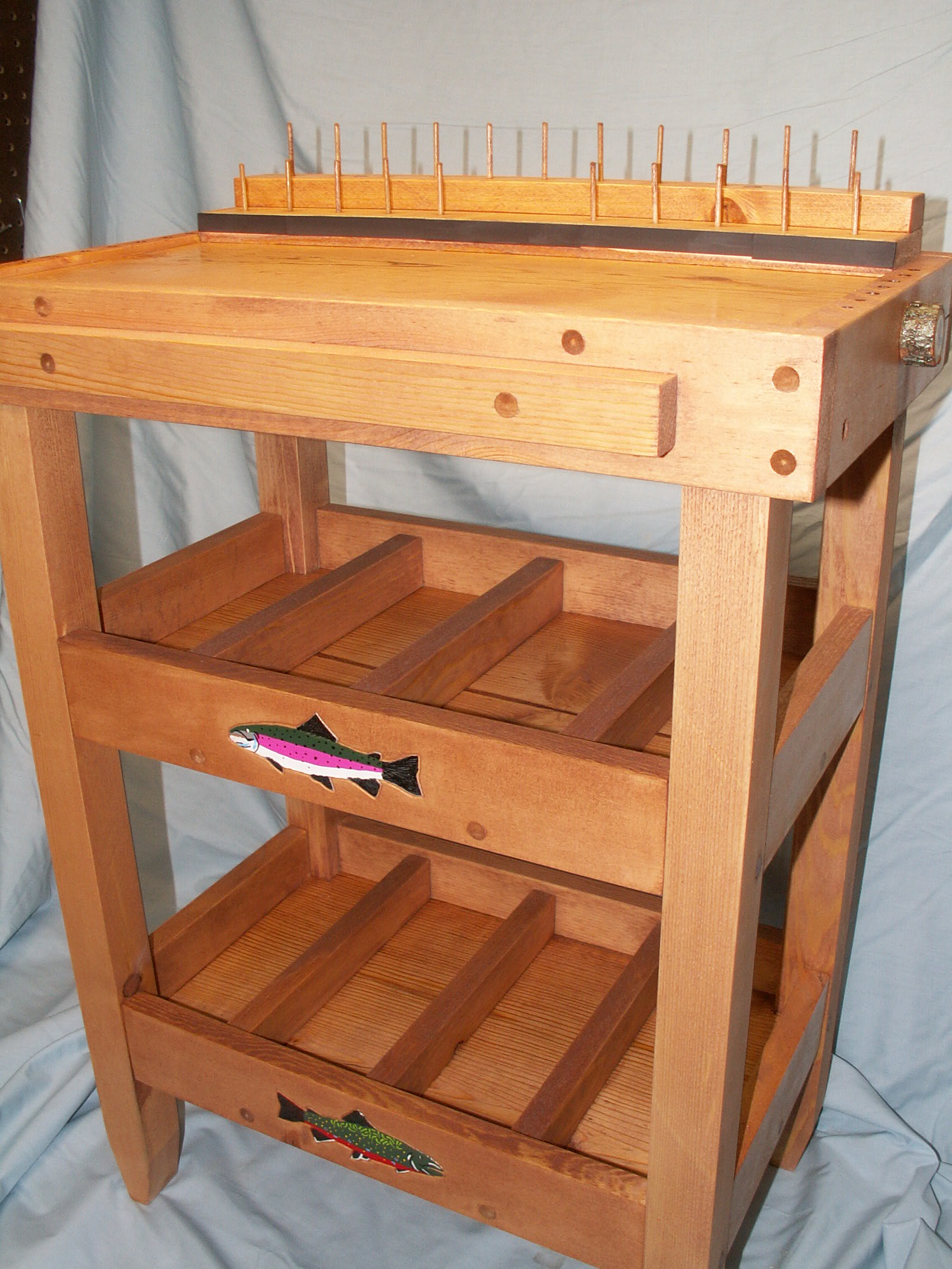 Diy Fly Tying Desk Design Pdf Download Craft Woods Nappy16icw