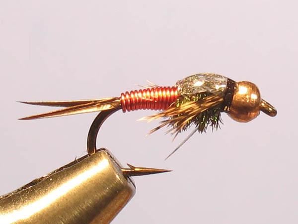 Fly Tying Copper John S B S Swittersb Amp Exploring