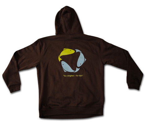 Green Fish Garb and Sustainable Fish Hoodie