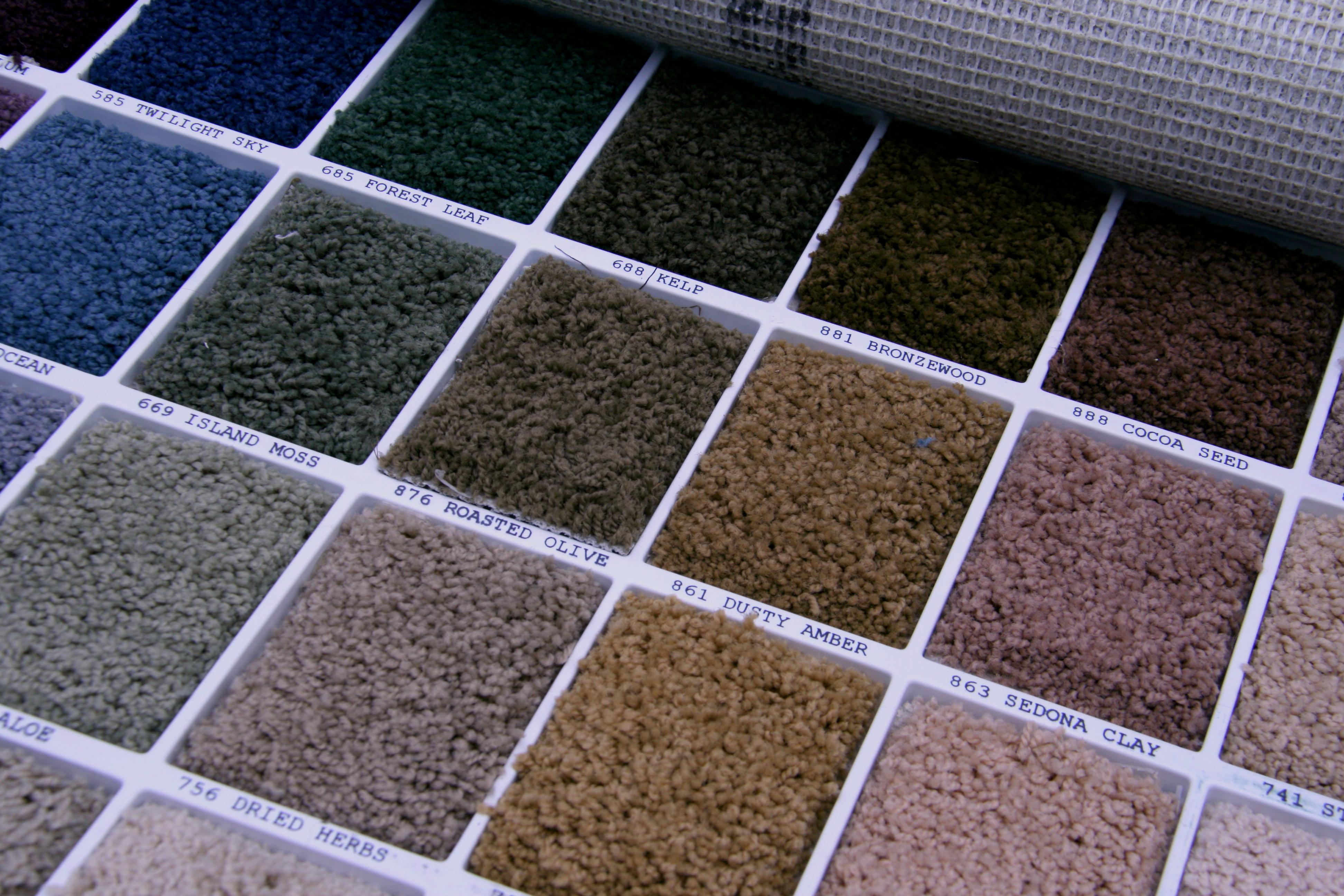 Carpet Samples Viewing Gallery