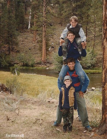 The Boys, S. Fk. Malheur River, 1986