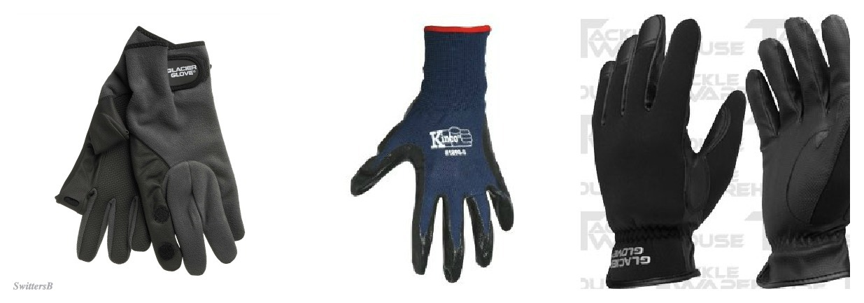 Fly fishing gloves for Fishing in cold weather