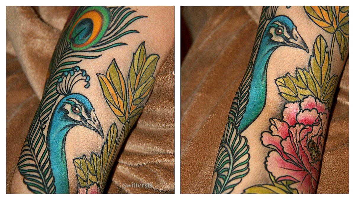 Peacock flower tattoo designs - Tattoo Photography Peacock Flowers Jere Ware Paul Zenk Swittersb