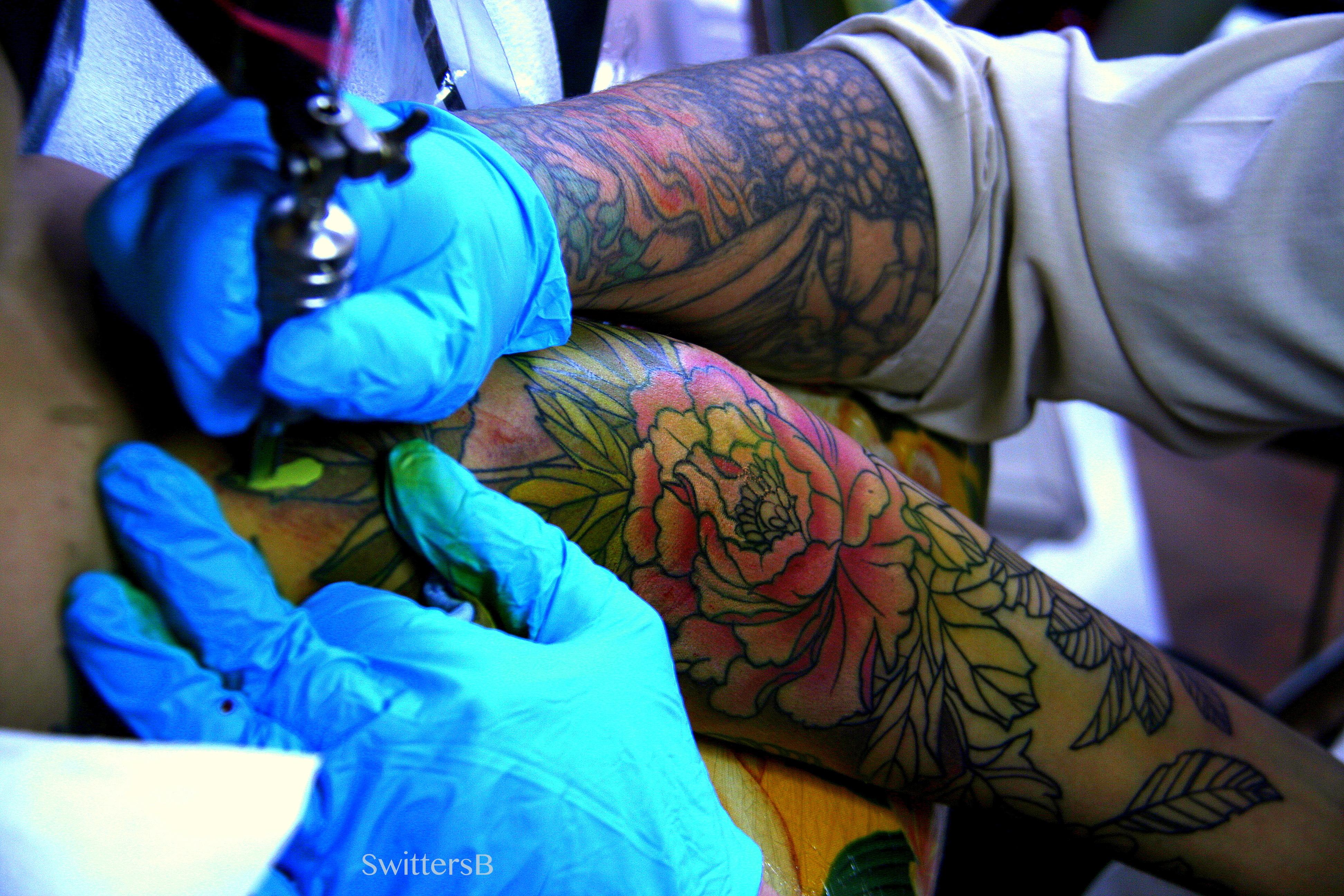 Peacock flower tattoo designs - Tattoos Peacock Flowers Paul Zenk Swittersb