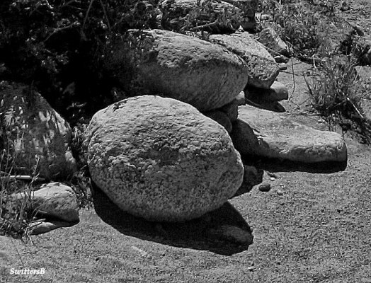 rocks shadows SB