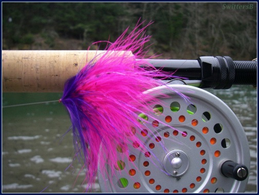 Hot Colors spey reel SB SwittersB