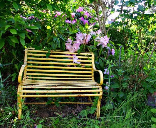 garden bench cottage SB