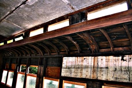 Inside Old Rail Car SB
