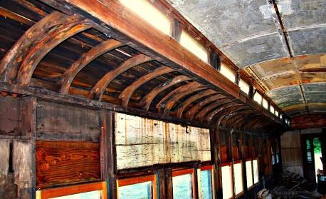 Left Interior Wall Rail Car SB