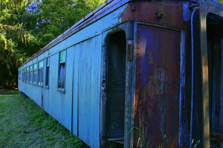 Old Rail Car in Field SB