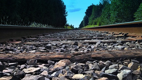 Railroad Tracks SB
