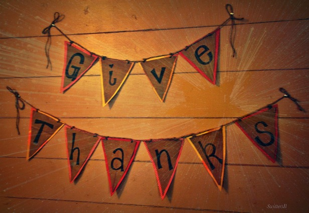 Give Thanks Flags-