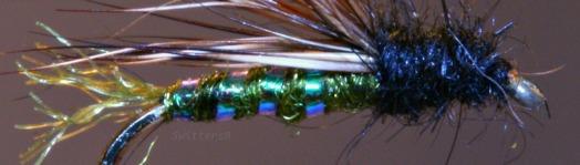 Green X Caddis Emerger SwittersB