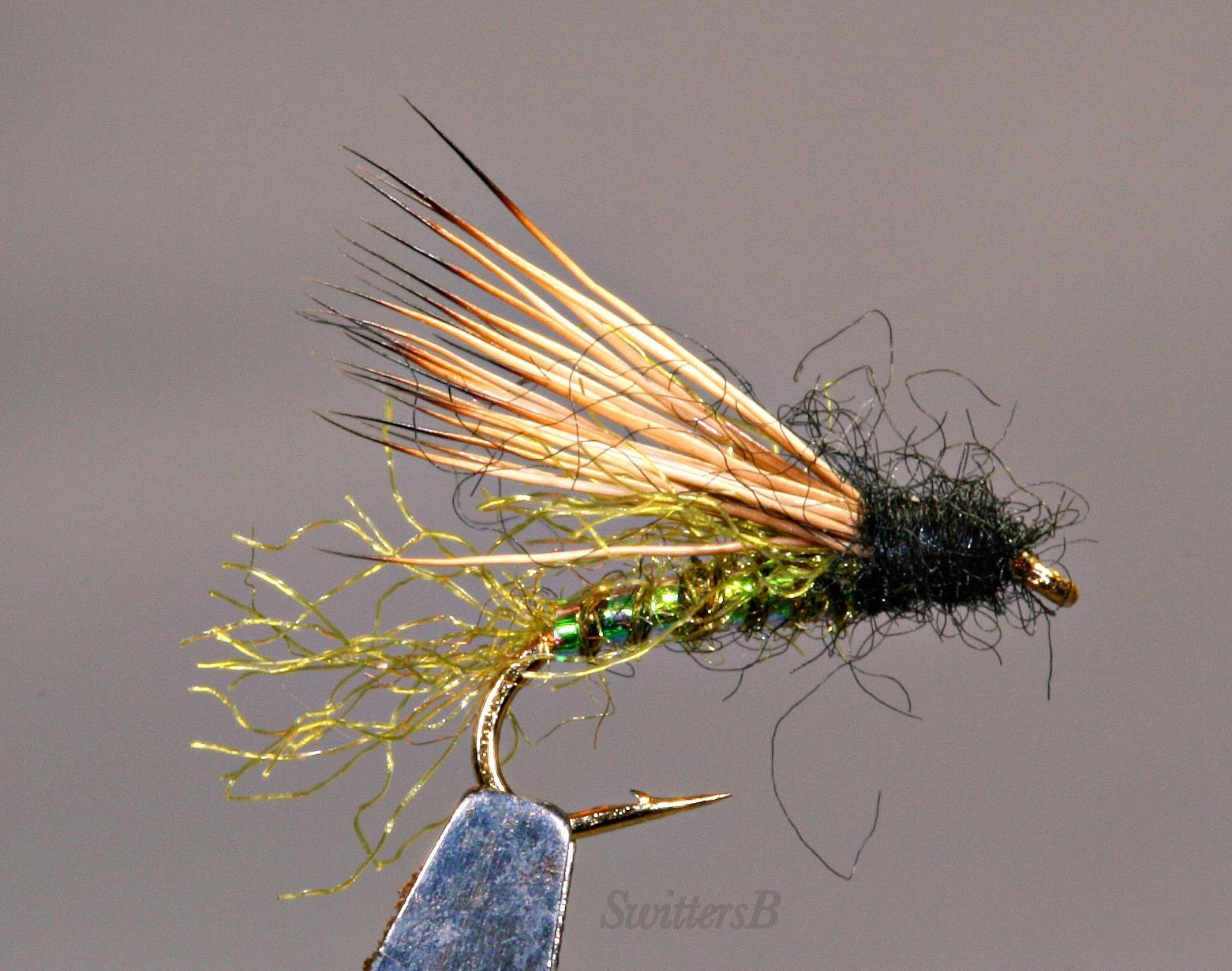 Fly tying fishing mathew s x caddis great fly for Fly fishing tying