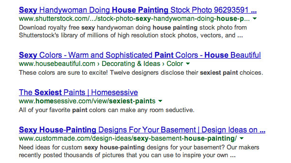 -sexy paints