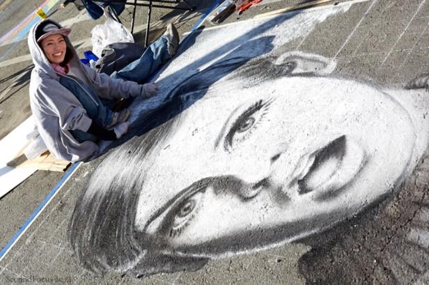 Chalk Art By Moe Notsu