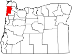 Oregon_highlighting_Tillamook_County
