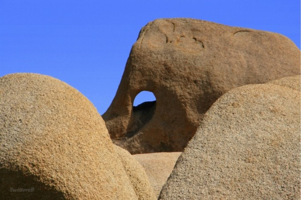 photography-SwittersB-hole in rock-Joshua Tree-desert-landscape